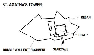 St. Agatha's Tower map.png