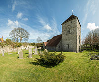 St. Andrew's Church, Jevington, UK - April 2012.jpg