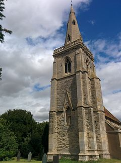 St. Helenas Church in Thoroton Notts 2015.jpg