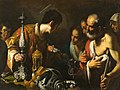St. Lawrence Distributing the Treasures of the Church - Bernardo Strozzi - Google Cultural Institute.jpg