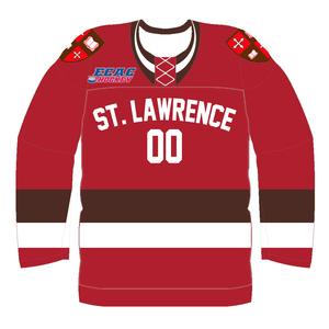 St. Lawrence Saints men's ice hockey - Image: St. Lawrence University Hockey Jersey