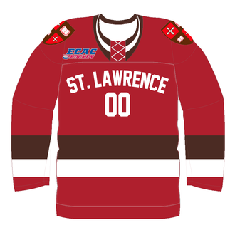 St. Lawrence Saints men's ice hockey - Image: St. Lawrence University Hockey Jersey