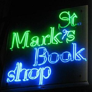 St. Mark's Bookshop - Image: St. Mark's Bookshop (10338890086)