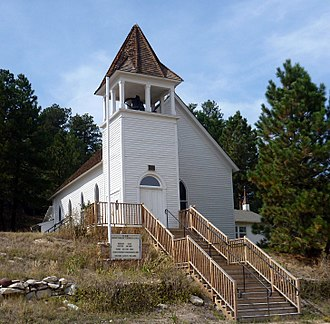 Elbert County, Colorado - Image: St. Mark United Presbyterian Church 04