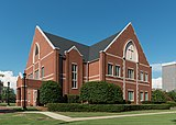 St. Mary's Church, Parish House, Greenville SC, Southwest view 20160701 1.jpg