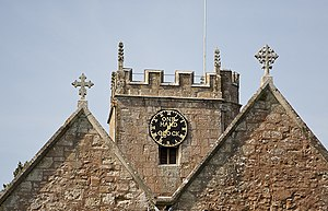 "St Nicolas' Church, North Stoneham - The ""One Hand Clock"""