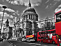 St. Paul's Cathedral black white and red.jpg