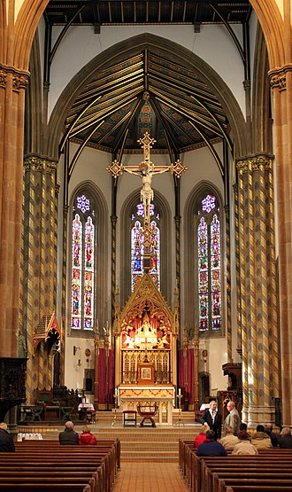 St Chad's Cathedral, Birmingham - The apse