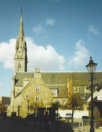 St Mary's Cathedral, Aberdeen - Image: St Mary's Cathedral, Aberdeen 2