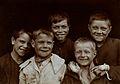 St Mary's Hospital, Plaistow; children from Plaistow. Photog Wellcome V0029083.jpg