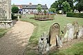 St Mary, Attleborough, Norfolk - Churchyard - geograph.org.uk - 310614.jpg