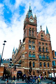 St Pancras railway station - Wikipedia, the free encyclopedia