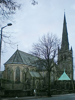 Lancaster Cathedral - Image: St Peter's RC Cathedral geograph.org.uk 1060844
