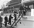 Staatsbezoek Franse president Coty aan Nederland. Derde dag. Rotterdam. Boottoch, Bestanddeelnr 906-6162.jpg