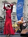 Stadtfest Wien - Flamenco Puro with Sandra La Chispa 20090425 434.jpg