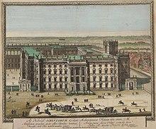 Entwurf von Andreas Schlüter für die Erweiterung des Berliner Schlosses, um 1702 (Quelle: Wikimedia)