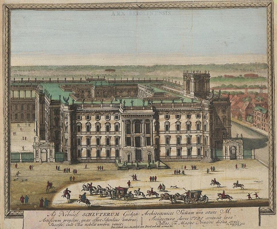 Stadtschloss 1702