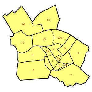 Dorotheenstadt - Dorotheenstadt (5) within the locality of Mitte in central Berlin
