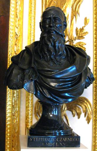 Stefan Czarniecki - A bust of Czarniecki by Andrzej Le Brun, held in Royal Castle, Warsaw.