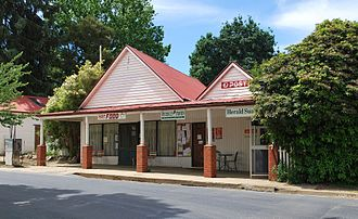 Stanley, Victoria - The now closed general store and post office (circa 1852)
