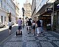 Staré Město, Celetná, Prašná brána, segway.jpg