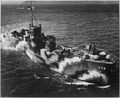 Starboard bow view of U.S. ship LCI ^772, Astoria, Oregon, July 30, 1944. - NARA - 520579.tif