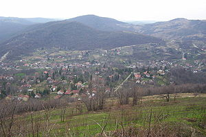 Stari Ledinci - Scenic view of the village from a hilltop