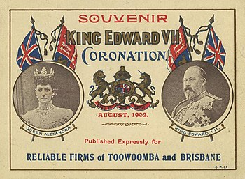 StateLibQld 2 258520 Souvenir poster for the coronation of King Edward VII, August 1902.jpg