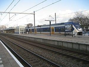 Voorschoten railway station - Image: Station Voorschoten 2