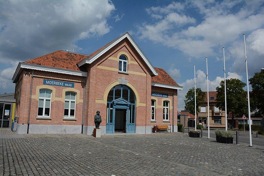 Station van Moerbeke-Waas