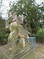 Statue Nord Enfant à l'oie (parc du Thabor, Rennes).JPG