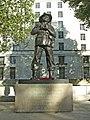 Statue of Field Marshal the Viscount Slim, Whitehall, London - geograph.org.uk - 306863.jpg