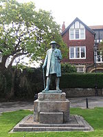 Statue of James Rice Buckley, Llandaff.jpg
