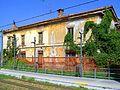 Stazione di Redona Fabbricato Viaggiatori lato ferrovia 20120809.JPG
