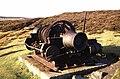 Steam winch, Sikehead Lead Mine - geograph.org.uk - 701984.jpg
