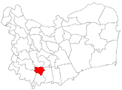 Location of Stejaru