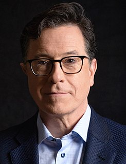Stephen Colbert American comedian and writer