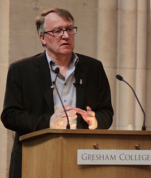 Stephen Hodder - Stephen Hodder delivering the 2014 Gresham Special Lecture
