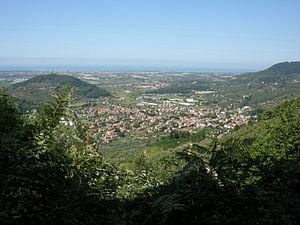 Massarosa - Panorama of Stiava