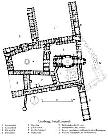 Altenburg abbey wikipedia for Castle floor plan generator
