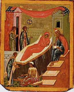 Christian feast day celebrating the birth of John the Baptist
