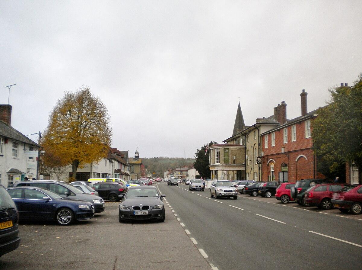 stockbridge hampshire   wikipedia