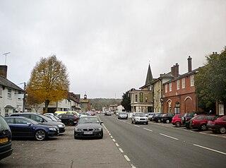 Stockbridge, Hampshire town and civil parish in west Hampshire, England
