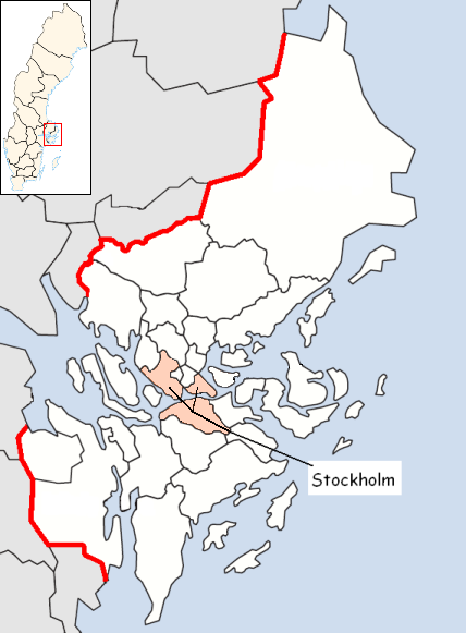 Stockholm Municipality in Stockholm County