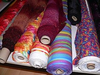 Bolt (fabric) unit of fabric measurement