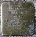 Stolperstein Fehrbelliner Str 81 (Mitte) Thea Fuss.jpg