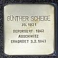 Stolperstein HB-HamburgerStr 10 - Günther Scheige - 1921.jpg