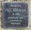 Stolperstein Schönhauser Allee 138 (Prenz) Paul Abraham.jpg