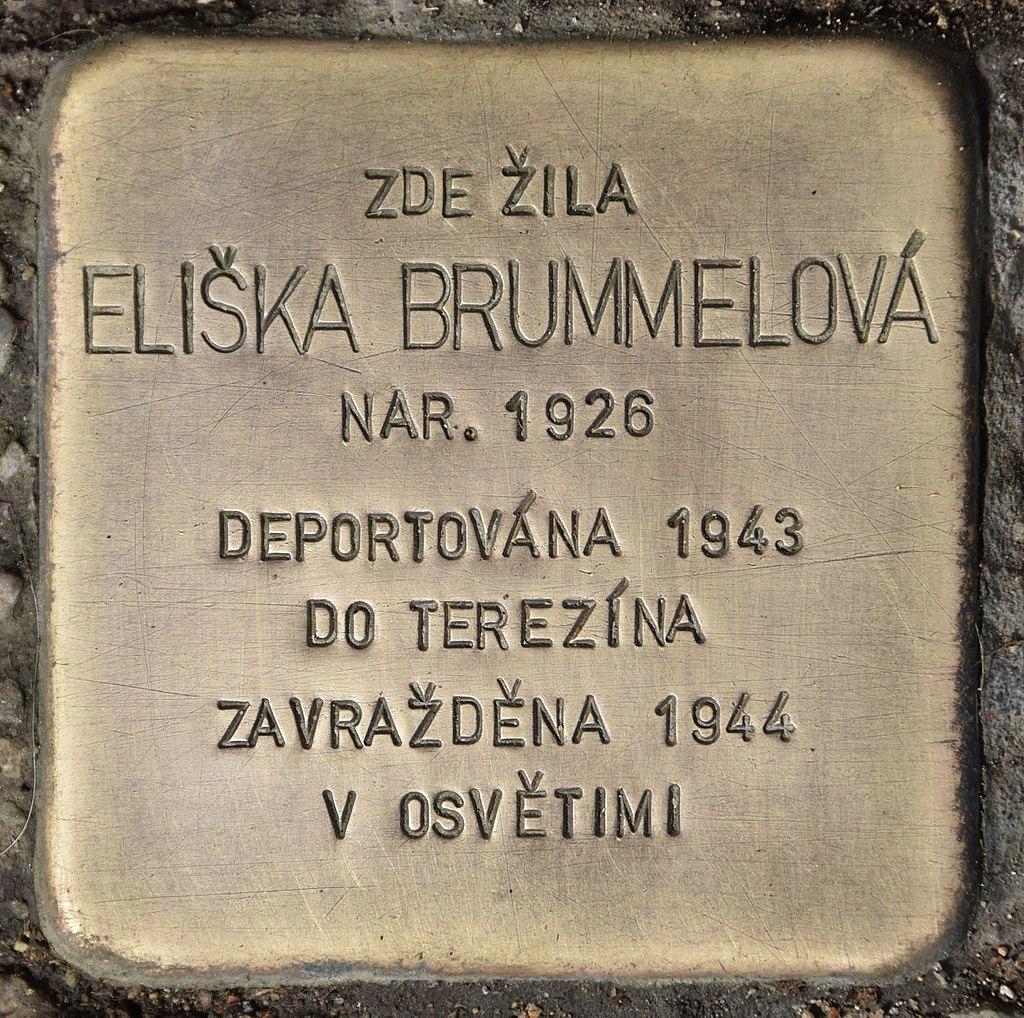 Stolperstein für Eliska Brummelova.jpg