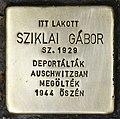 Stolperstein für Gabor Sziklai.jpg
